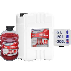 Liquide Radiateur red